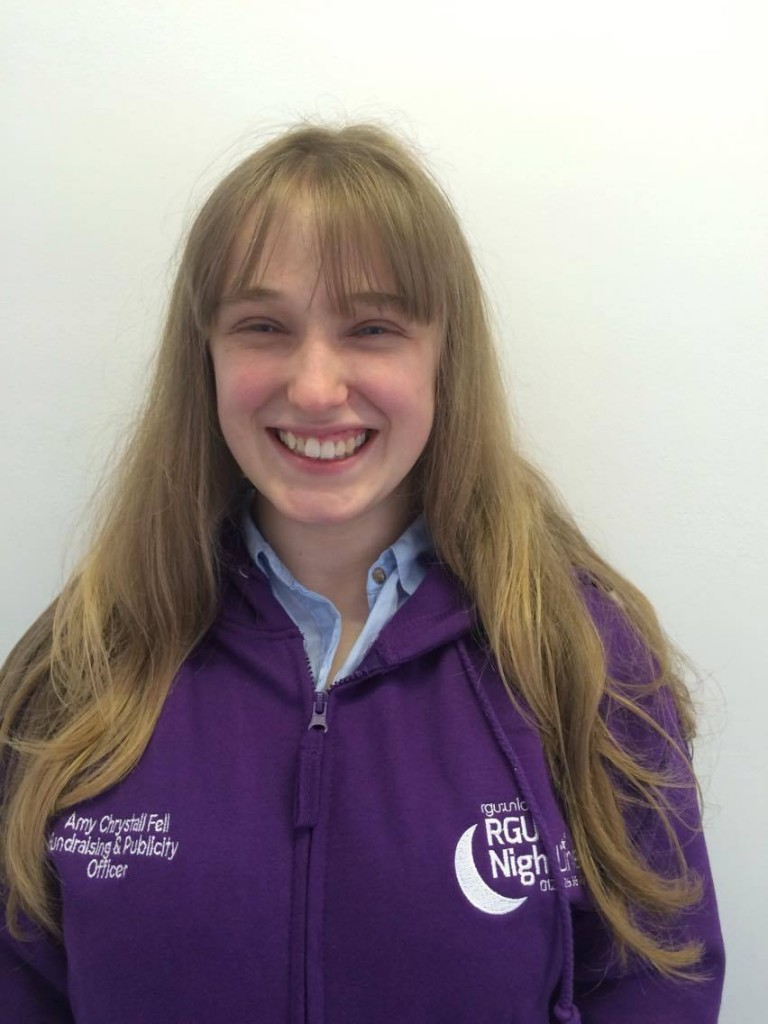 Amy Fell (Fundraising and Publisty Officer)
